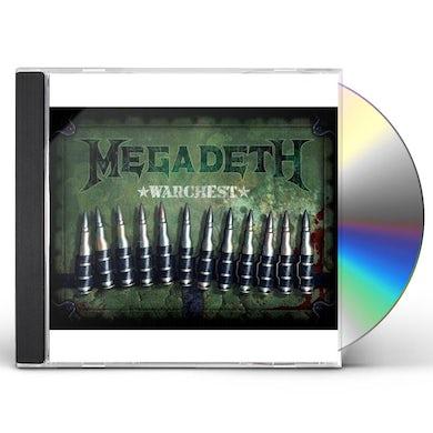 Megadeth WARCHEST CD