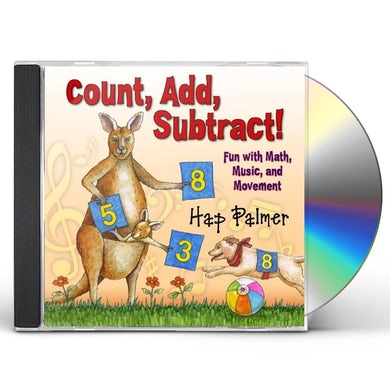 Hap Palmer COUNT ADD SUBTRACT FUN WITH MATH MUSIC & MOVEMENT CD