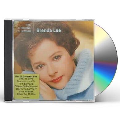 Brenda Lee DEFINITIVE COLLECTION CD