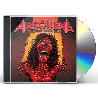 Airbourne BREAKIN OUTTA HELL CD
