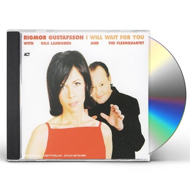 Rigmor Gustafsson I WILL WAIT FOR YOU CD