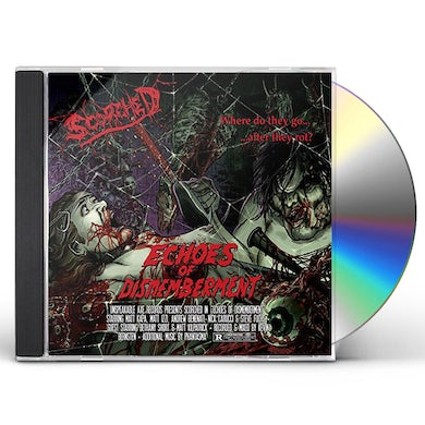 Scorched ECHOES OF DISMEMBERMENT CD