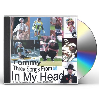 Tommy THREE SONGS FROM IN MY HEAD CD