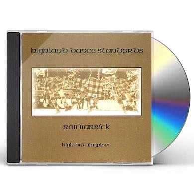 Rob Barrick HIGHLAND DANCE STANDARDS CD