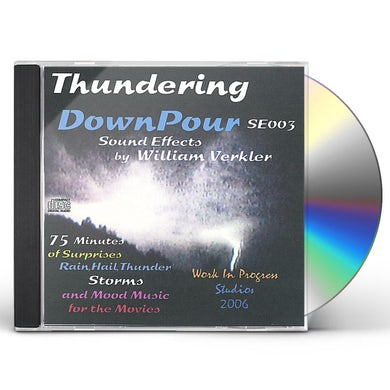 William Verkler THUNDERING DOWNPOUR CD