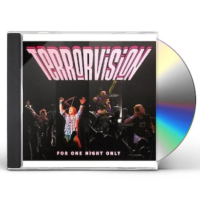 Terrorvision FOR ONE NIGHT ONLY CD
