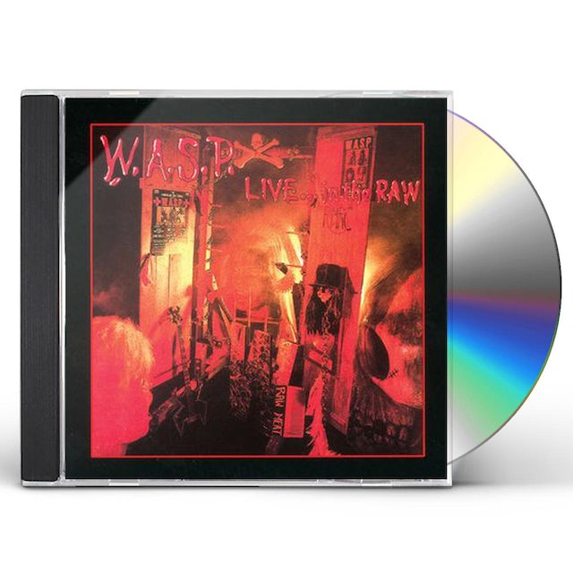 W.A.S.P LIVE IN THE RAW CD
