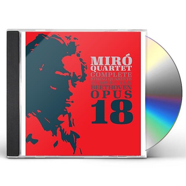Miro Quartet LUDWIG VAN BEETHOVEN OP. 18 CD