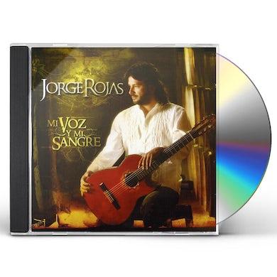 Jorge Rojas MI VOZ Y MI SANGRE CD
