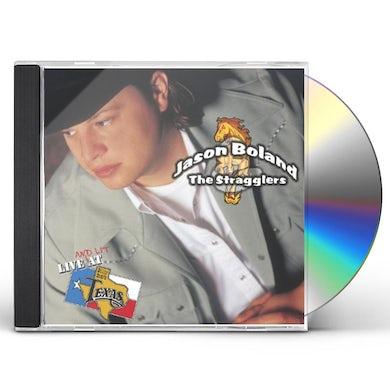 Jason Boland LIVE AT BILLY BOB'S TEXAS CD