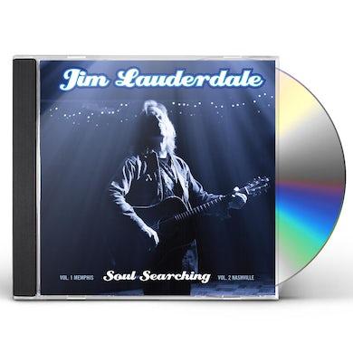 Jim Lauderdale SOUL SEARCHING: VOL 1. MEMPHIS / VOL 2. NASHVILLE CD