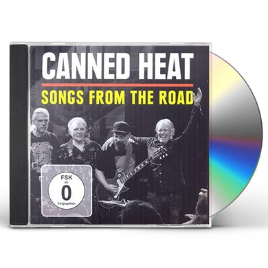 Canned Heat SONGS FROM THE ROAD CD