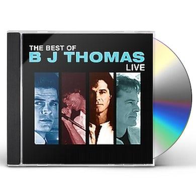 B.J. Thomas BEST OF BJ THOMAS LIVE CD