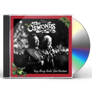 Osmonds VERY MERRY ROCKIN' CHRISTMAS CD