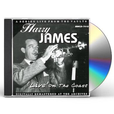 Harry James LIVE ON THE COAST CD