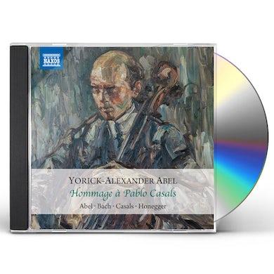 Abel HOMMAGE A PABLO CASALS CD