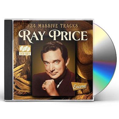 Ray Price 34 MASSIVE TRACKS CD