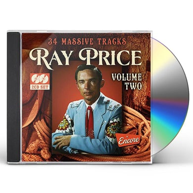 Ray Price 34 MASSIVE HITS VOL 2 CD