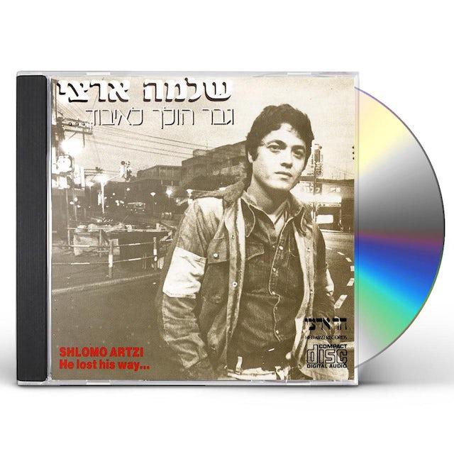 Shlomo Artzi MAN GETS LOST CD