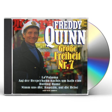 Freddy Quinn GROSSE FREIHEIT NR. 7 CD