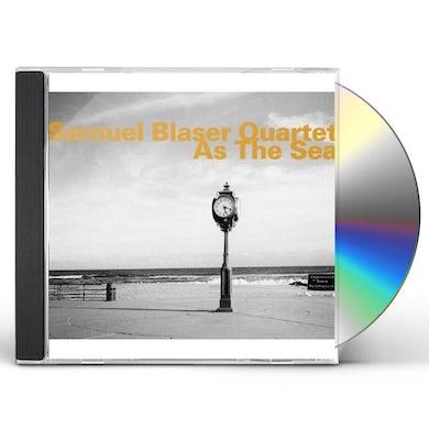 Samuel Blaser AS THE SEA CD