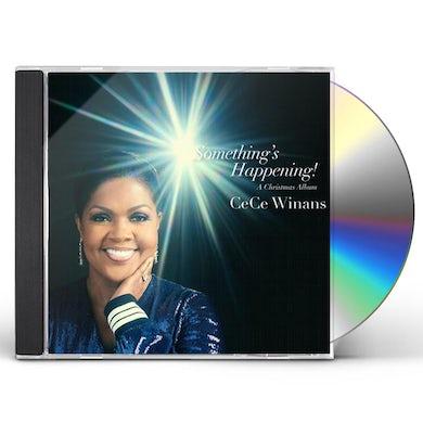 CeCe Winans SOMETHING'S HAPPENING - A CHRISTMAS ALBUM CD