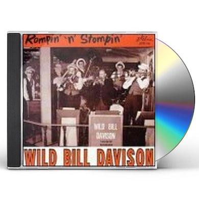 Wild Bill Davison ROMPIN & STOMPIN CD