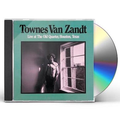 Townes Van Zandt Live At The Old Quarter, Houston, Texas CD