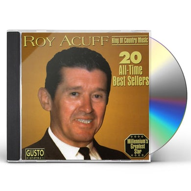 Roy Acuff 20 ALL TIME BEST SELLERS CD