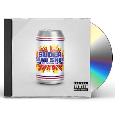 Superstah Snuk MAN OF 1000 STYLES CD