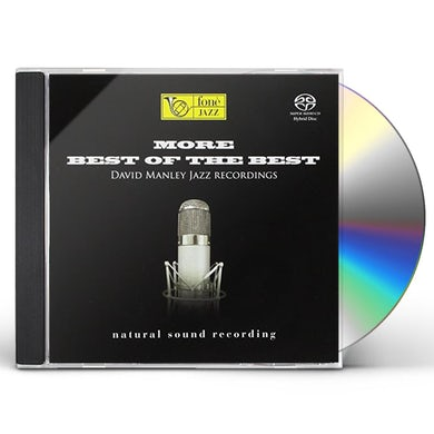 David Jazz Recordings Manley MORE BEST OF THE BEST CD