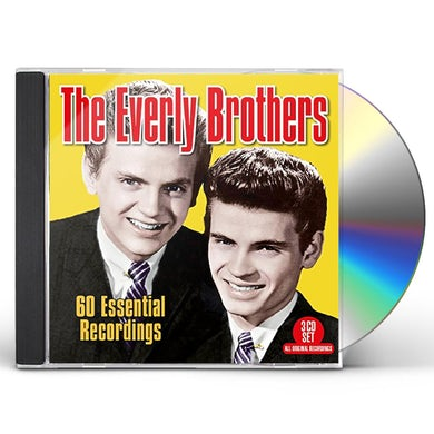 The Everly Brothers 60 ESSENTIAL RECORDINGS CD