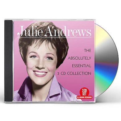 Julie Andrews ABSOLUTELY ESSENTIAL 3 CD COLLECTION CD