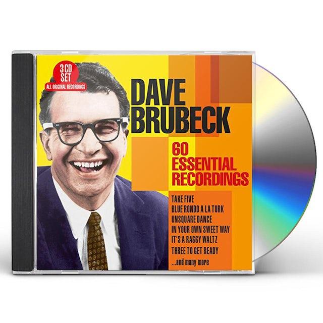 Dave Brubeck 60 ESSENTIAL RECORDINGS CD