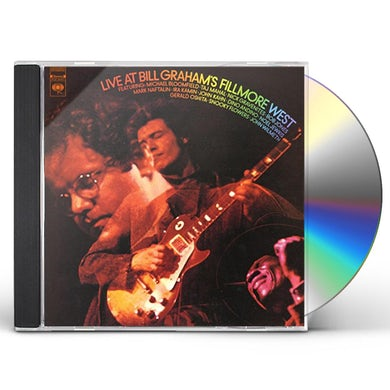 Mike Bloomfield LIVE AT BILL GRAHAMS FILLMORE CD