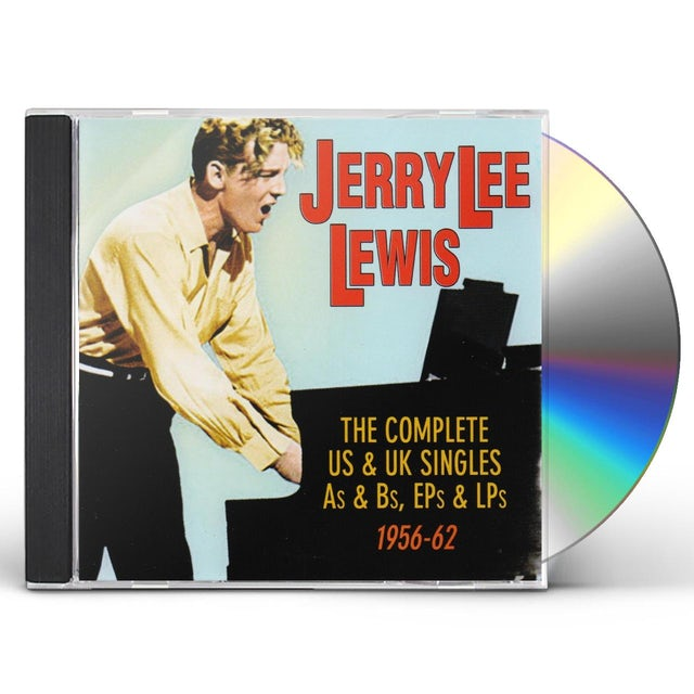 Jerry Lee Lewis COMPLETE US & UK SINGLES AS & BS EPS & LPS 1956-62 CD