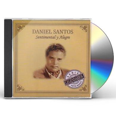 Daniel Santos SENTIMENTAL Y ALEGRE CD