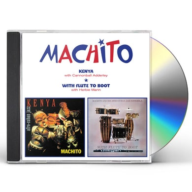 Machito KENYA / WITH FLUTE TO BOOT CD