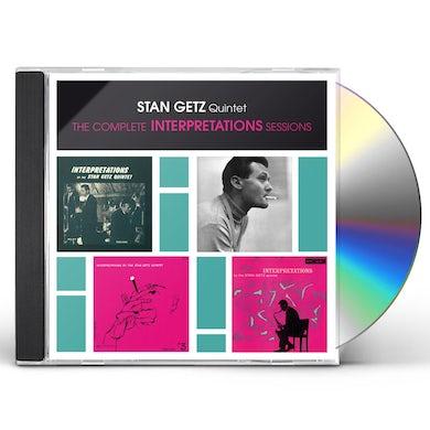 Stan Getz COMPLETE INTERPRETATIONS SESSIONS CD