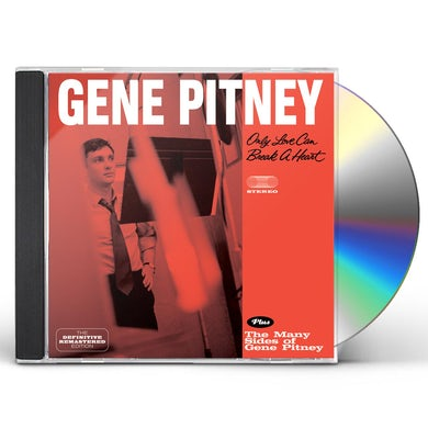 Gene Pitney ONLY LOVE CAN BREAK A HEART / MANY SIDES CD
