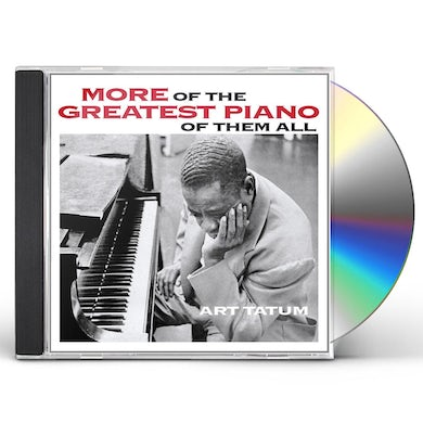 Art Tatum MORE OF THE GREATEST PIANO OF THEM ALL CD