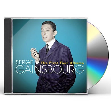 Serge Gainsbourg HIS FIRST FOUR ALBUMS CD