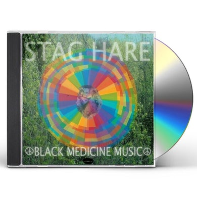 Stag Hare BLACK MEDICINE MUSIC CD