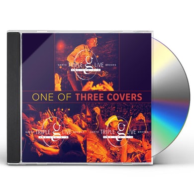 Garth Brooks Triple Live Deluxe CD