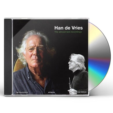 Han De Vries ALMOST LAST RECORDINGS CD