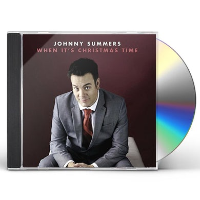 Johnny Summers WHEN IT'S CHRISTMAS TIME CD