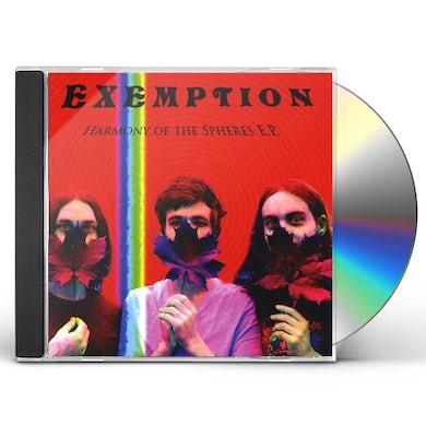 Exemption HARMONY OF THE SPHERES EP CD