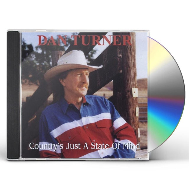 Dan Turner COUNTRY'S JUST A STATE OF MIND CD