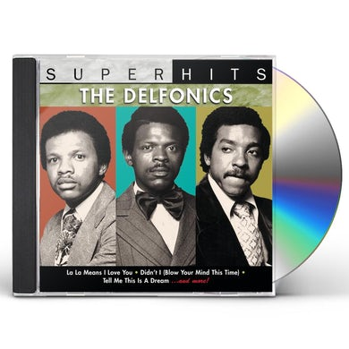 Delfonics SUPER HITS CD