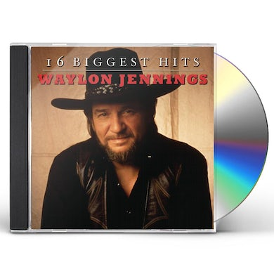 Waylon Jennings 16 BIGGEST HITS CD